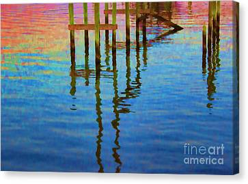 Focus On The Water Canvas Print