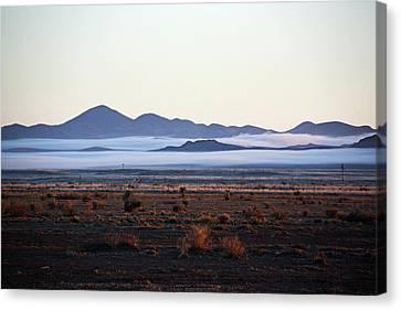 Fog In The Peloncillo Mountains Canvas Print