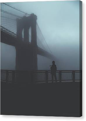 Fog Life  Canvas Print by Anthony Fields