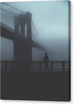 Fog Life  Canvas Print
