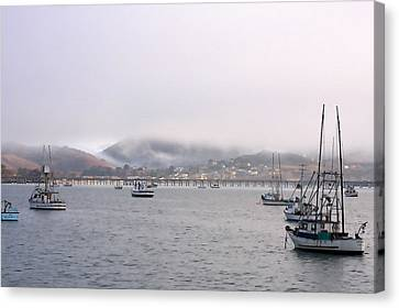 Fog Over Avila Canvas Print by Art Block Collections