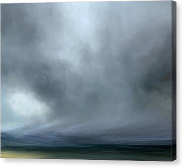 Fog Over Fields Canvas Print