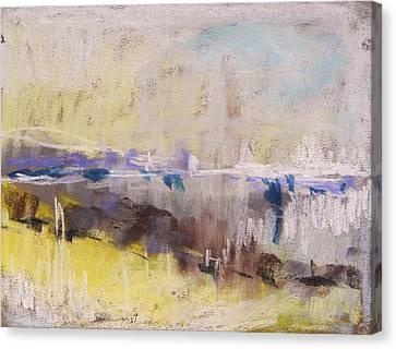 Fog Rising Canvas Print by John Williams