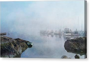 And Fog Drifts In Canvas Print