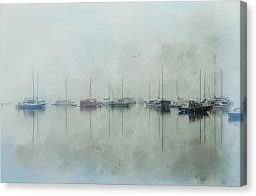 One Foggy Morning Canvas Print