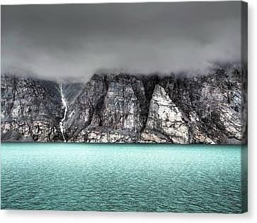 Foggy Baffin Island Canvas Print