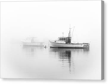 Foggy Bottom Canvas Print by Mike Lang