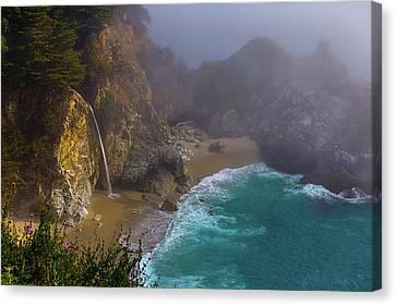 Foggy Cove Canvas Print