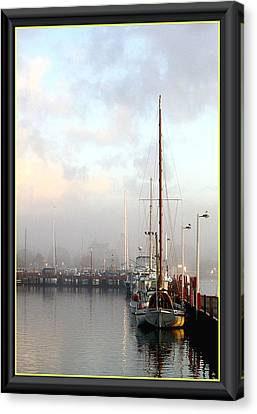 Foggy Day Canvas Print by James  Dierker