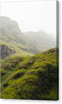 Canvas Print featuring the photograph Foggy Highlands Morning by Christi Kraft