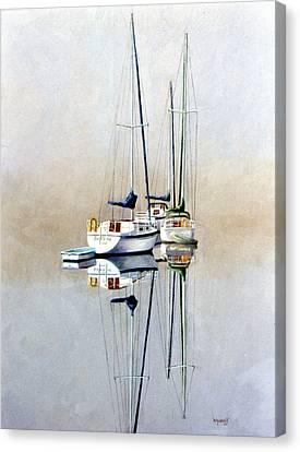 Canvas Print - Foggy Morn by Karol Wyckoff