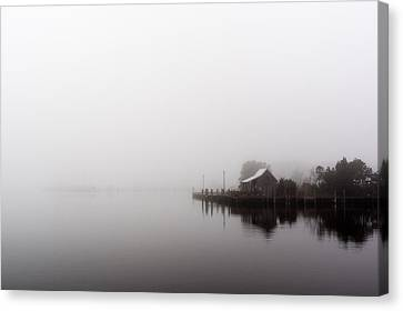 Foggy Morning Canvas Print by Gregg Southard