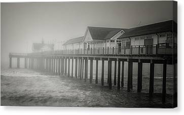 Foggy Morning Canvas Print by Martin Newman