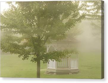 Foggy Morning Canvas Print by Art Spectrum