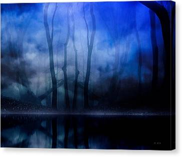 Foggy Night Canvas Print
