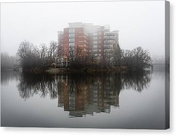 Foggy Reflection Canvas Print by Celso Bressan