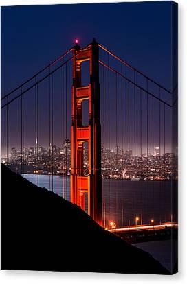 Foggy San Fransisco Canvas Print