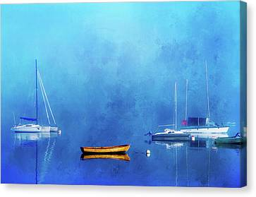 Upon The Still Waters Canvas Print