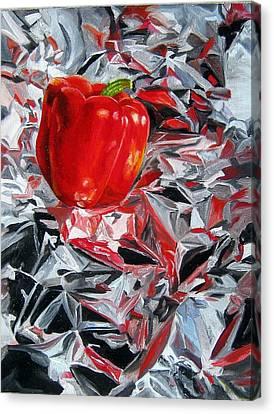 Foil Reflections Canvas Print