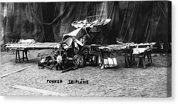 Fokker Tri-motor Airplane Canvas Print