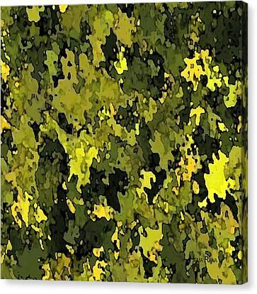 Foliage Canvas Print by Hema Rana