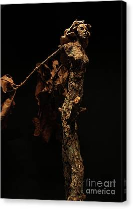Foliated Victory Detail Canvas Print