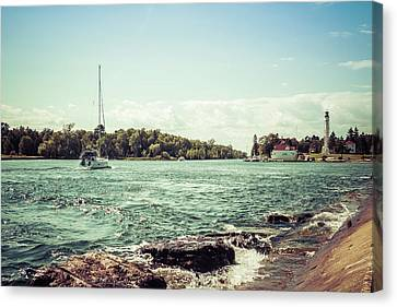 Canvas Print featuring the photograph Follow Me Now by Joel Witmeyer