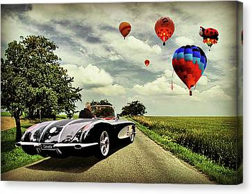 Follow That Dream Canvas Print by Steven Agius