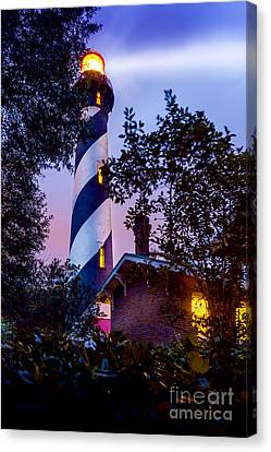 Augustine Canvas Print - Follow The Light by Marvin Spates