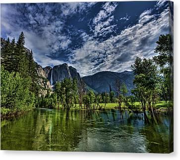 Follow The River Canvas Print