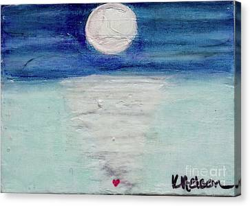 Follow Your Heart Canvas Print by Kim Nelson