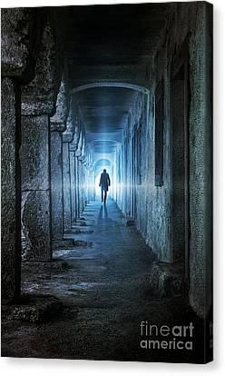 Following The Light Canvas Print by Carlos Caetano
