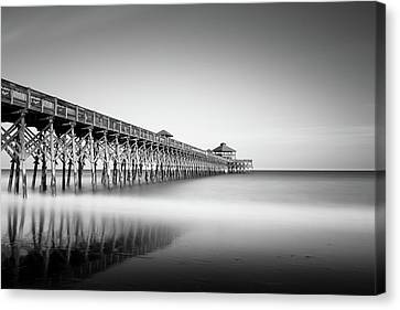 Folly Beach Pier Canvas Print by Ivo Kerssemakers