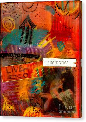 Fond Memories Canvas Print by Angela L Walker