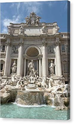 Fontana Di Trevi In Rome I Canvas Print