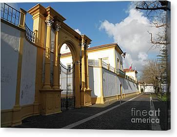 Fonte Bela Palace - Azores Canvas Print by Gaspar Avila