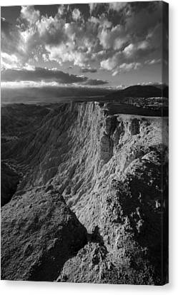 Font's Point Canvas Print by Peter Tellone