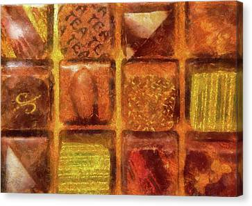 Food - Candy - Excellent Chocolates Canvas Print