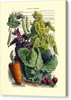 Food Art Canvas Print by Madame Memento