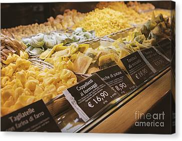 Food Court Pasta Canvas Print by Sophie McAulay