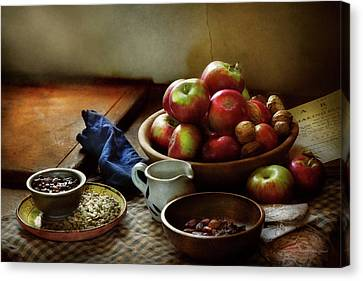 Food - Fruit - Ready For Breakfast Canvas Print by Mike Savad