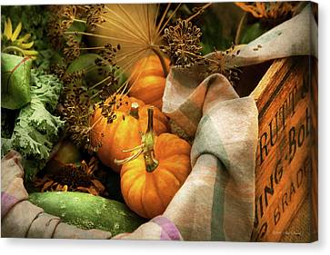 Canvas Print - Food - Pumpkin - Summer Still Life by Mike Savad