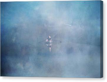 Ghostly Canvas Print - Floating Dreams by Marilyn Wilson