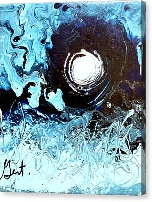 Fool Moon Canvas Print