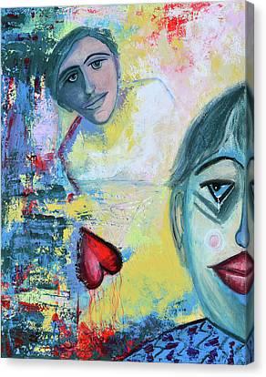 Foolish Love Canvas Print by Donna Blackhall