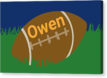 Foot Ball Canvas Print by Denny Casto