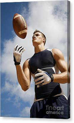 Football Athlete I Canvas Print by Kicka Witte - Printscapes