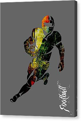 Football Collection Canvas Print