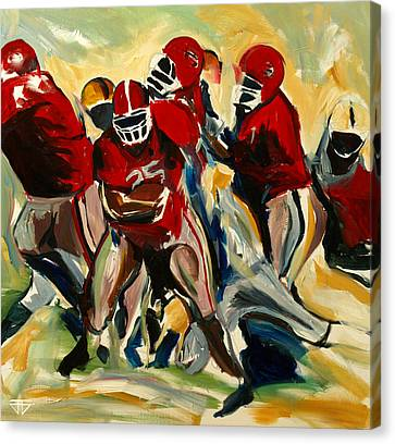 Football Pack Canvas Print