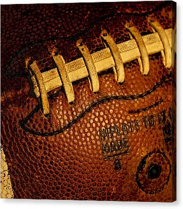 Football - The Gridiron Tool Canvas Print by David Patterson